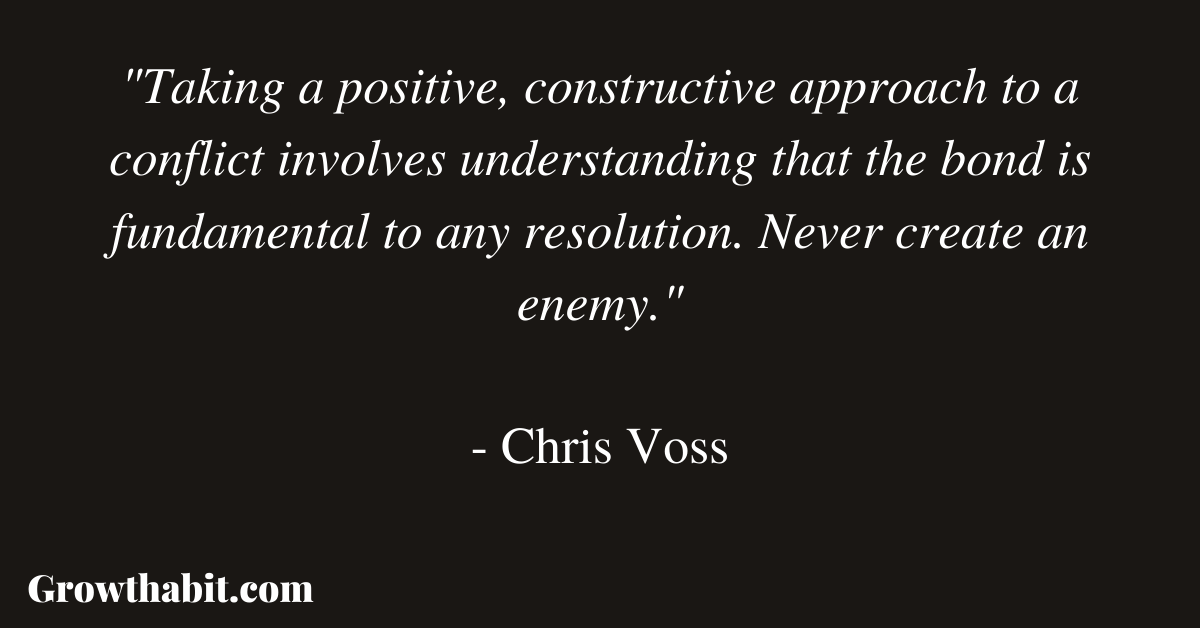 Chris Voss Quote