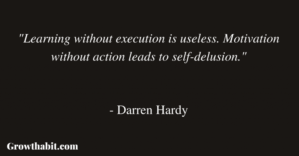 Darren Hardy Quote