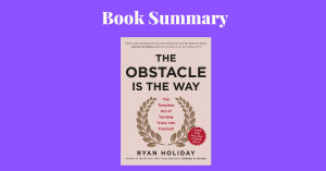 The Obstacle Is The Way Ryan Holiday Book Cover