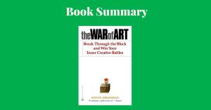The War Of Art Steven Pressfield Book Cover