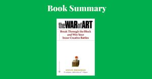 The War Of Art Steven Pressfield Book Cover