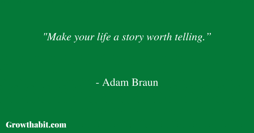 Adam Braun Quote 2