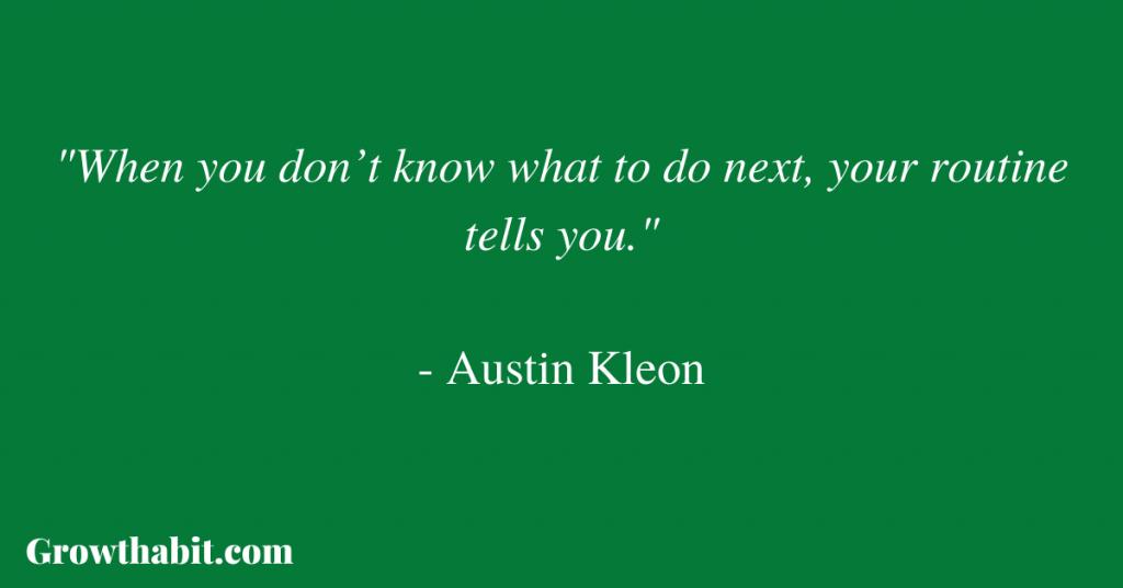 Austin Kleon Quote 2