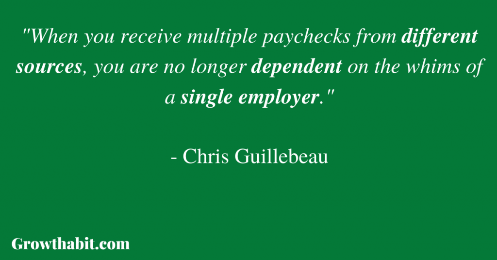 Chris Guillebeau Quote 2