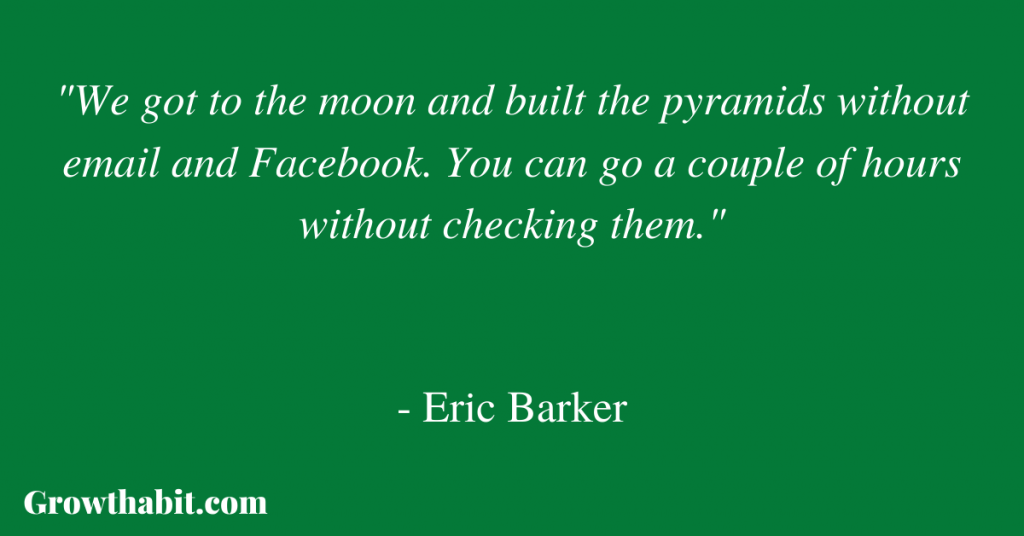 Eric Barker Quote 2