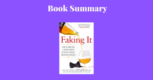 Faking It How To Seem Like A Better Person - Book Cover