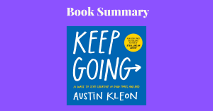 Keep Going Austin Kleon Book Cover