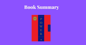 The 48 Laws Of Power by Robert Greene - Book Cover