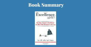 The Excellence Habit Vlad Zachary Book Cover