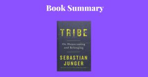 Tribe - Sebastian Junger Book Cover