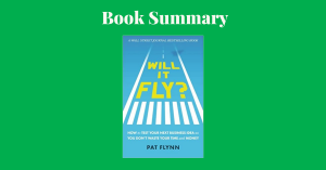 Will it Fly Pat Flynn Book Cover