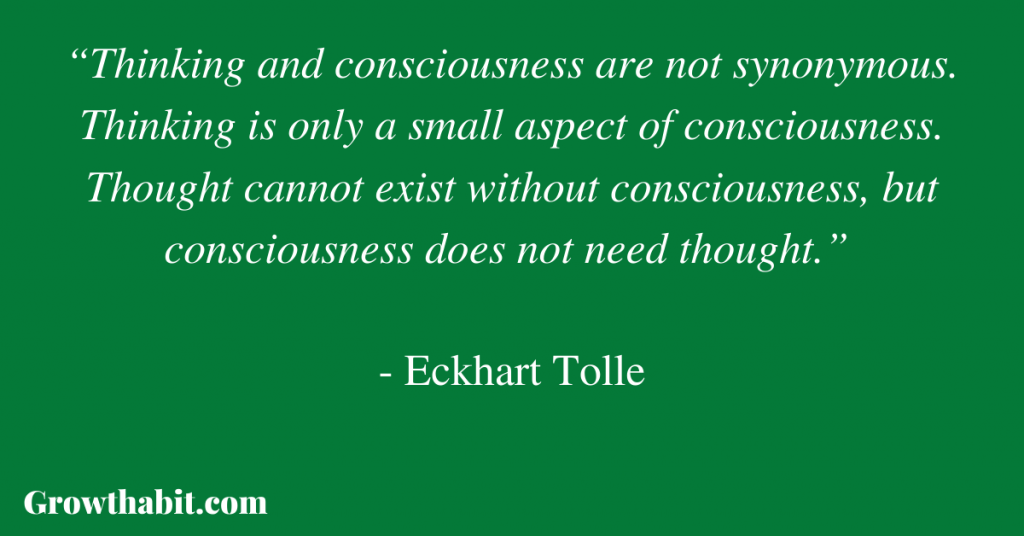 Eckhart Tolle Quote