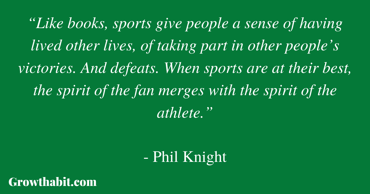Phil Knight Quote 2