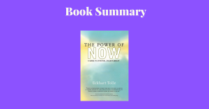 The Power Of Now - Book Cover