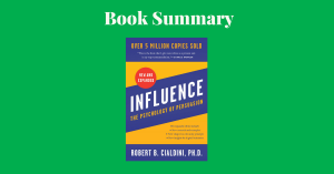 Influence by Robert Cialdini - Book Cover
