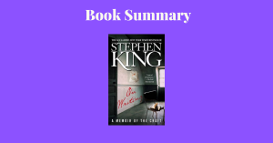 On writing by Stephen King - book cover