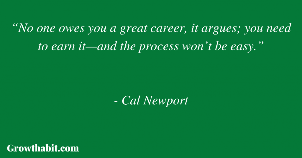 Cal Newport Quote