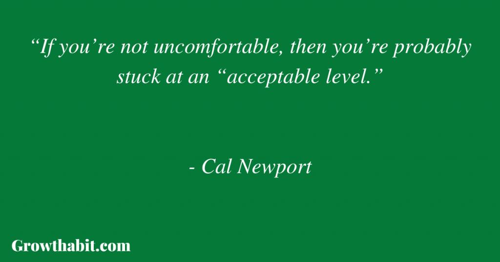 Cal Newport Quote 2